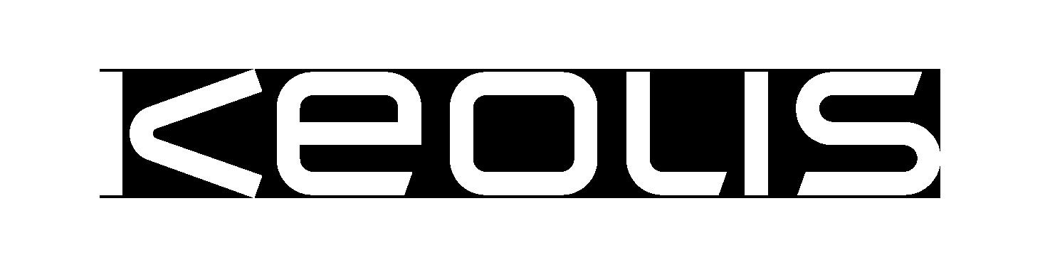 White Keolis Logo